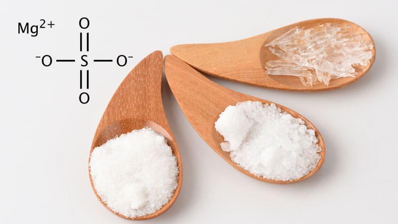 Todo lo que hay que saber del sulfato de magnesio